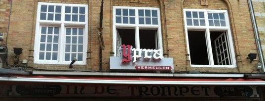 De Trompet is one of 50 aangenaamste terrassen van Ieper.