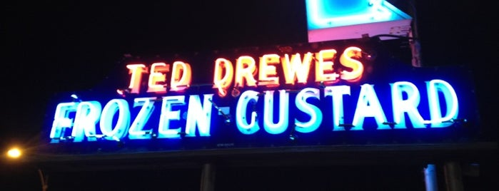 Ted Drewes Frozen Custard is one of Best Places in #STL #visitUS.