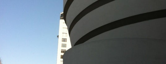 Solomon R Guggenheim Museum is one of Gray Line New York's Uptown Loop.