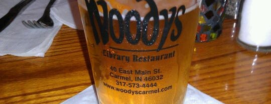 Woody's Library Restaurant is one of Orte, die Christine gefallen.