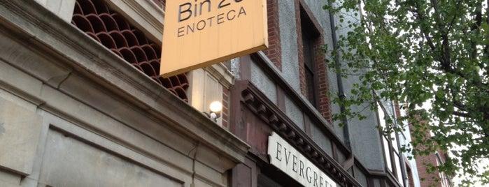 Bin 26 Enoteca is one of Boston: International.