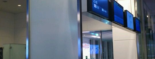 Gate 114 is one of 羽田空港 国際線 搭乗口.