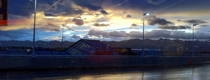 Ted Stevens Anchorage International Airport (ANC) is one of Airports Visited.