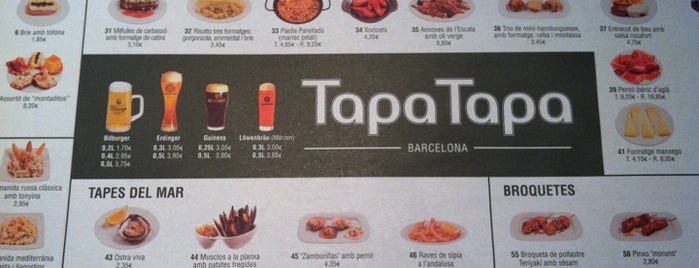 Tapa Tapa is one of Barca.