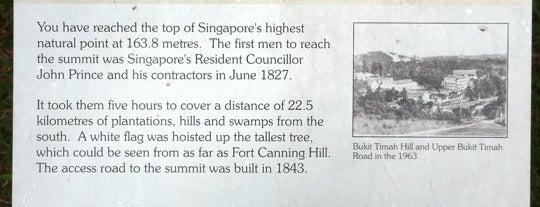 Bukit Timah Summit is one of Lieux qui ont plu à Ben.