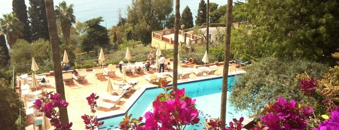 Hotel Villa Belvedere is one of Taormina.