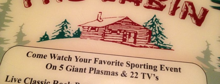 The Cabin Restaurant is one of NJ.