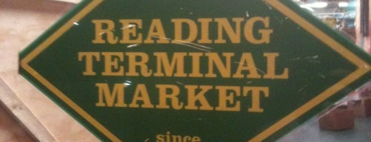 Reading Terminal Market is one of Favorite Places in Philly.