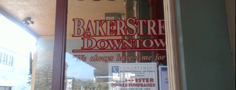 Baker Street Downtown is one of Film. Food. Wine..