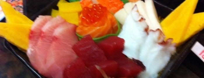 Hanabi Hibachi & Sushi is one of Lugares favoritos de Zach.