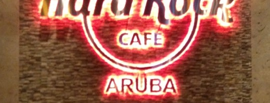 Hard Rock Cafe Aruba is one of Gespeicherte Orte von Gabriel.