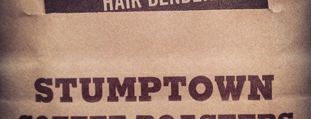 Stumptown Coffee Roasters is one of NYC.
