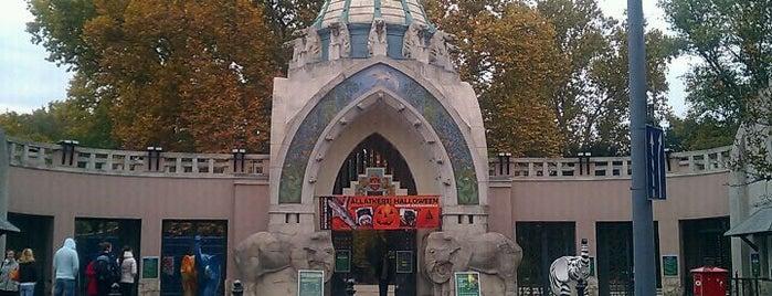 Budapesti Állatkert   Budapest Zoo is one of Must Do's in Budapest.