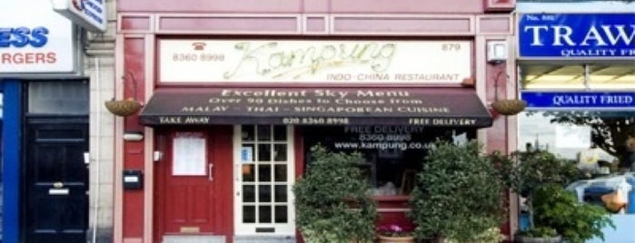 Kampung is one of Malaysian Restaurants in London.