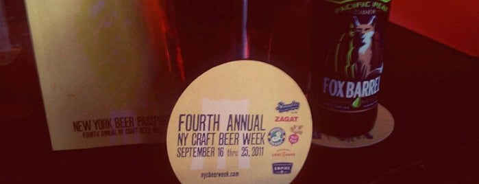 High Dive is one of NYC Craft Beer Week 2011.