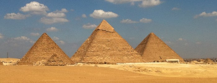 Great Pyramids of Giza is one of Go Ahead, Be A Tourist.