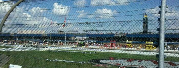 ミシガン・インターナショナル・スピードウェイ is one of Racetracks Around America.