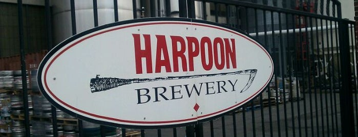 Harpoon Brewery is one of Best Places to Check out in United States Pt 7.