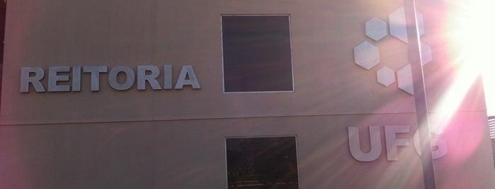 Reitoria is one of Posti che sono piaciuti a Maria Thereza.