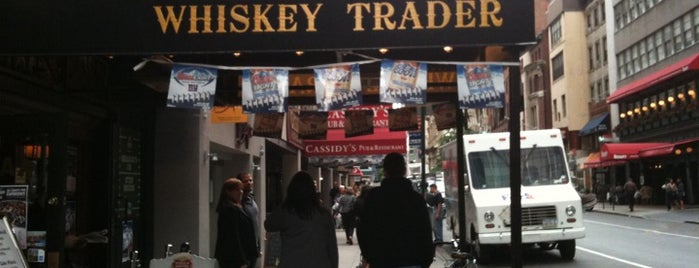 Whiskey Trader is one of NYC: Highly Refined.