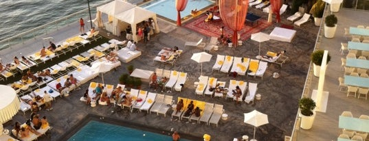 Mondrian Pool is one of Ultimate South Beach List.