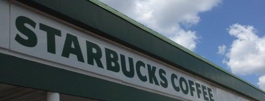 Starbucks is one of Tempat yang Disukai Brett.