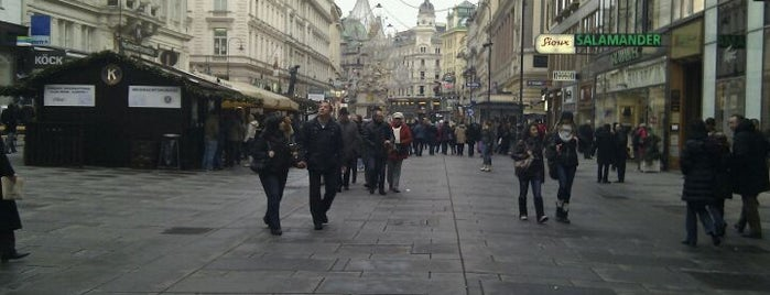 Graben is one of Exploring Vienna (Wien).