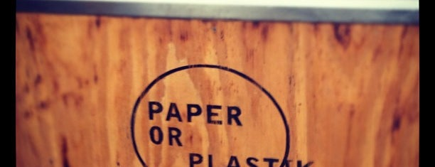 Paper Or Plastik Cafe is one of My to-dos in LA.