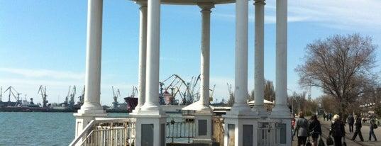 Приморська площа is one of berdyansk.