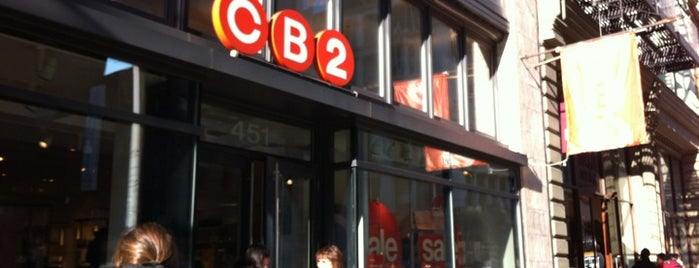 CB2 is one of soho.