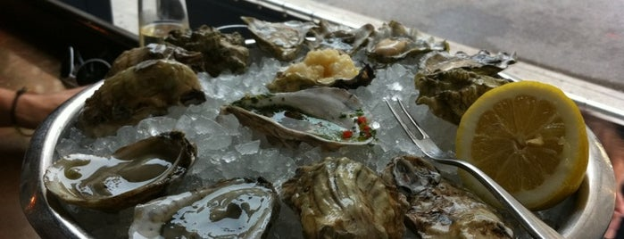 John Dory Oyster Bar is one of Uber's Guide to New York Oyster Week.