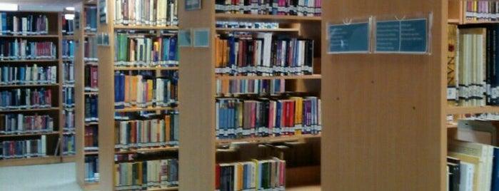 Merkez Kütüphane is one of Sık Gidilenler.