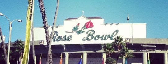 Rose Bowl Flea Market and Market Place is one of Posti che sono piaciuti a James.