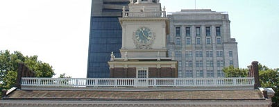 Independence Hall is one of Revolutionary War Trip.