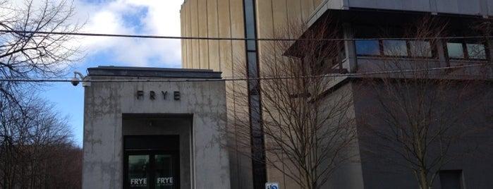 Frye Art Museum is one of 2012 MLA Seattle.