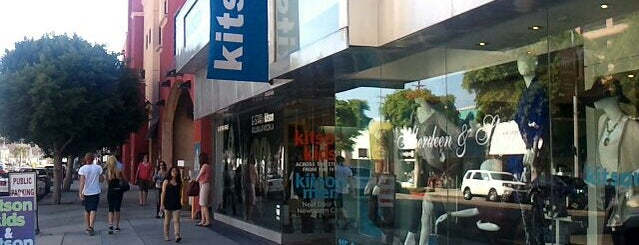 Kitson is one of LA and beach cities as a local.