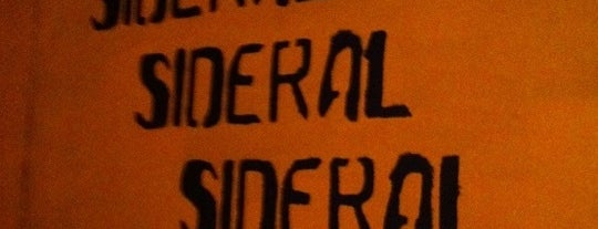Sideral is one of Bar fiesta.