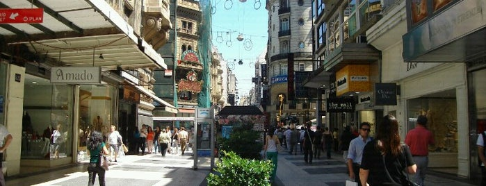 Peatonal Florida is one of Buenos Aires by Lonely Planet.