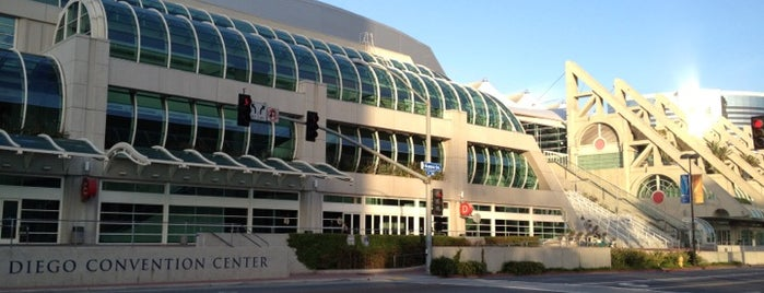 San Diego Convention Center is one of San Diego's best Spots = Peter's Fav's.