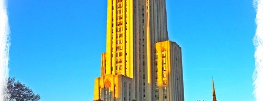 Cathedral of Learning is one of Pittsburgh.
