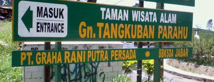 Gunung Tangkuban Parahu is one of Bandung Tourism: Parijs Van Java.