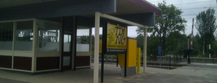 Station Akkrum is one of Friesland & Overijssel.
