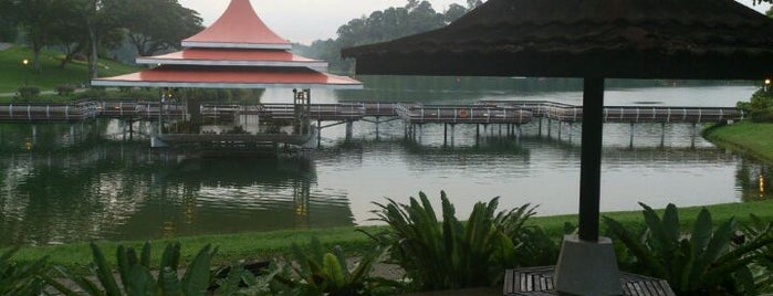 MacRitchie Reservoir Park is one of Singapore.