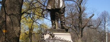 Thomas Cass Statue (Boston Public Garden) is one of IWalked Boston's Public Art (Self-guided Tour).