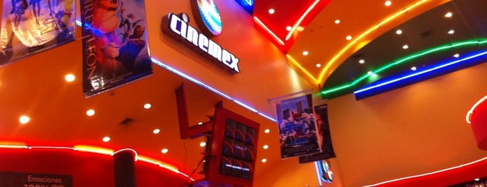 Cinemex is one of Tempat yang Disukai Marco.
