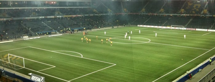Stade de Suisse is one of Stadiums.