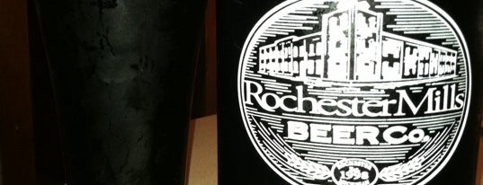 Rochester Mills Beer Company is one of Michigan Breweries.