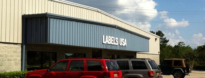 Label USA is one of Locais salvos de Jeff.