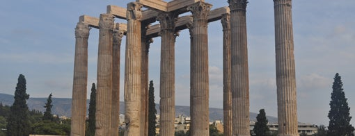 Temple of Olympian Zeus is one of Grécia.