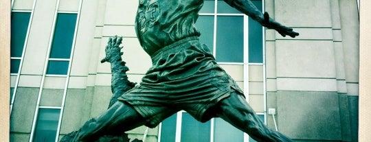The Spirit by by Omri & Julie Rotblatt-Amrany (Michael Jordan Statue) is one of Traveling Chicago.